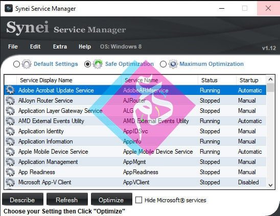 Synei Service Manager
