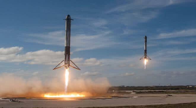 spaceX rocket launcher for Internet 1